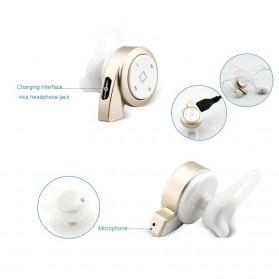 Mini Headset Wireless Bluetooth 4.1 - A8 - Black - 4