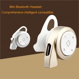 Mini Headset Wireless Bluetooth 4.1 - A8 - Black - 6
