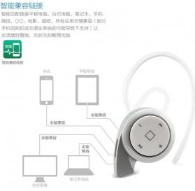 Mini Headset Wireless Bluetooth 4.1 - A8 - Black - 12