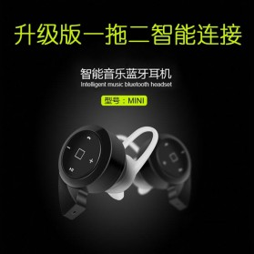 Mini Headset Wireless Bluetooth 4.1 - A8 - Black - 13
