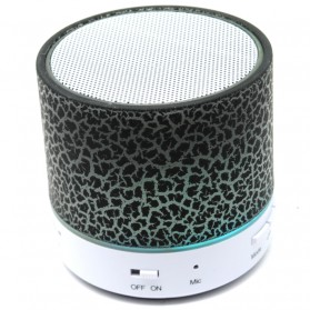 Dazzle Mini Bass Speaker Bluetooth TF Card - Black