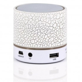 Dazzle Mini Bass Speaker Bluetooth TF Card - White