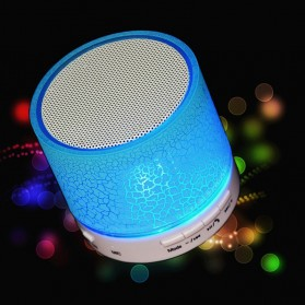 Dazzle Mini Bass Speaker Bluetooth TF Card - Blue - 1