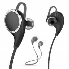 JOGGER Sport Bluetooth Earphone with Microphone - QY8 - Black