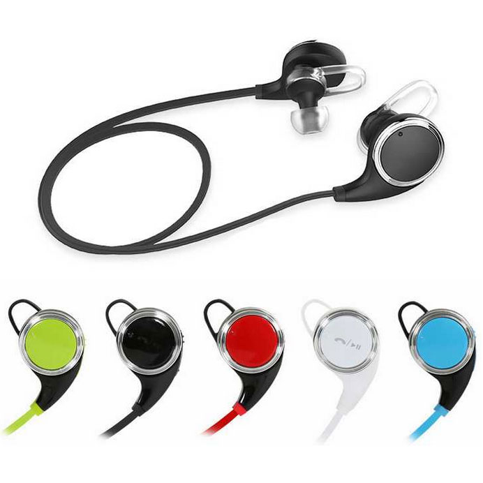 jogger sport bluetooth earphone with microphone qy8 blue jakartanoteboo. Black Bedroom Furniture Sets. Home Design Ideas