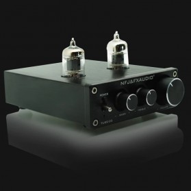Fx-Audio Vacuum Tube Speaker Pre Amplifier HiFi Audio - Tube-03 - Black