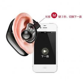 UFO Stereo Wireless Bluetooth Headset Handsfree - Black - 8