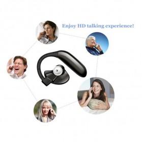 UFO Stereo Wireless Bluetooth Headset Handsfree - Black - 10