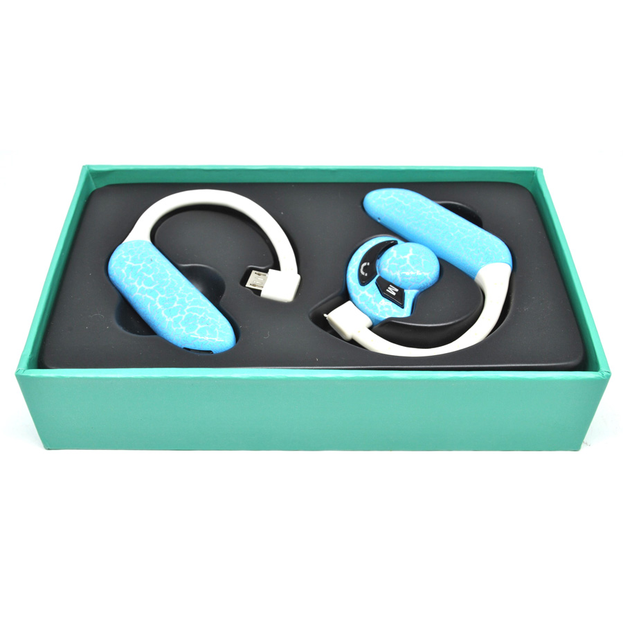 ufo stereo wireless bluetooth headset handsfree blue. Black Bedroom Furniture Sets. Home Design Ideas