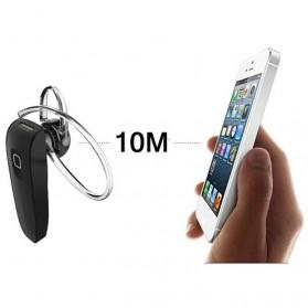 Genai Stereo Wireless Bluetooth Headset Handsfree V4.0 - Black - 10