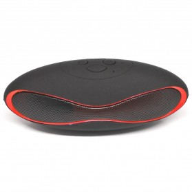Ubit Mini Portable Bluetooth Speaker Strong Bass - X6U - Red - 1