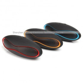 Ubit Mini Portable Bluetooth Speaker Strong Bass - X6U - Red - 5