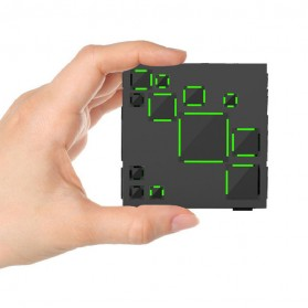 GoesTime Magic Cube Portable Bluetooth Speaker with Handsfree Function - Black - 5