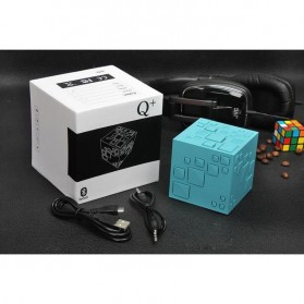GoesTime Magic Cube Portable Bluetooth Speaker with Handsfree Function - Black - 11