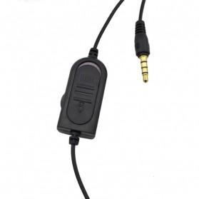 HuntGold Gaming Headset Dengan Vol Control Untuk Playstation 4 - Black - 4