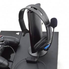 HuntGold Gaming Headset Dengan Vol Control Untuk Playstation 4 - Black - 5