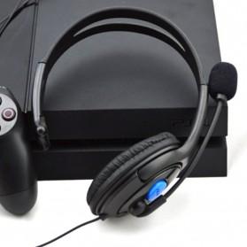 HuntGold Gaming Headset Dengan Vol Control Untuk Playstation 4 - Black - 6