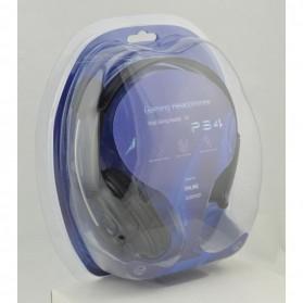 HuntGold Gaming Headset Dengan Vol Control Untuk Playstation 4 - Black - 8