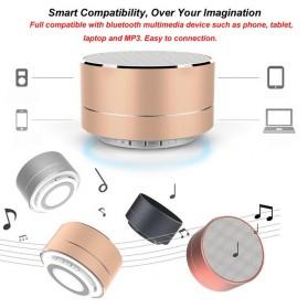 Mini Portable Bluetooth Speaker Super Bass - A10 - Black - 6