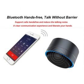 Mini Portable Bluetooth Speaker Super Bass - A10 - Black - 8