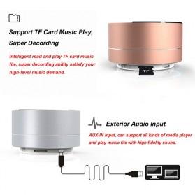 Mini Portable Bluetooth Speaker Super Bass - A10 - Black - 9