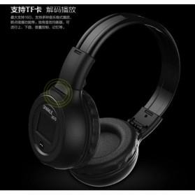 Zealot B570 Wireless Bluetooth Headphone Dengan FM TF - Black - 3
