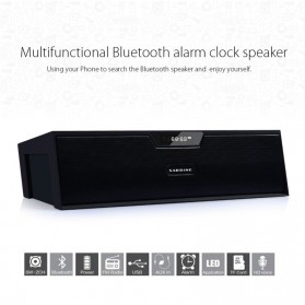 HiFi Portable Bluetooth Speaker - SDY-019 - Black - 2