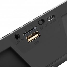 HiFi Portable Bluetooth Speaker - SDY-019 - Black - 4