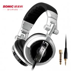 Senicc Headphone Super Bass - ST-80 - Silver