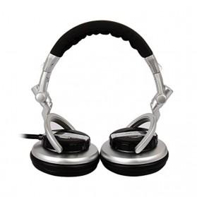 Senicc Headphone Super Bass - ST-80 - Silver - 2