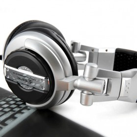 Senicc Headphone Super Bass - ST-80 - Silver - 5