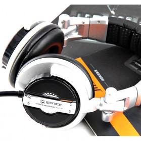 Senicc Headphone Super Bass - ST-80 - Silver - 6