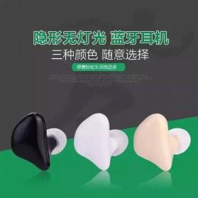 Ultra Mini Sport Wireless Bluetooth Headset Handsfree - Mini X1 - Cream - 2