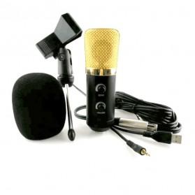 Taffware Mikrofon Kondenser USB Konektor dengan Mini Tripod - FIFINE K669B - Black - 4