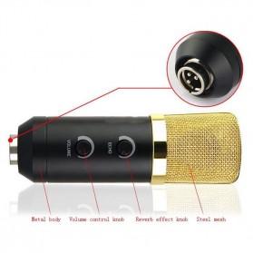 Taffware Mikrofon Kondenser USB Konektor dengan Mini Tripod - FIFINE K669B - Black - 5