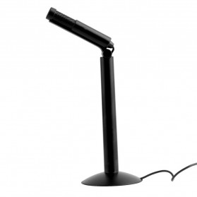 Andoer Microphone for Laptop 3.5mm with Stand Mount - SF-950 - Black - 2