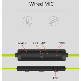 Freesolo 56S Sport Wireless Bluetooth Earphone dengan Mic - Black - 7