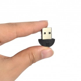 Super Mini Microphone USB 2.0 - Black