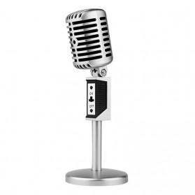 Professional Condenser Microphones Jazz Vintage - Silver