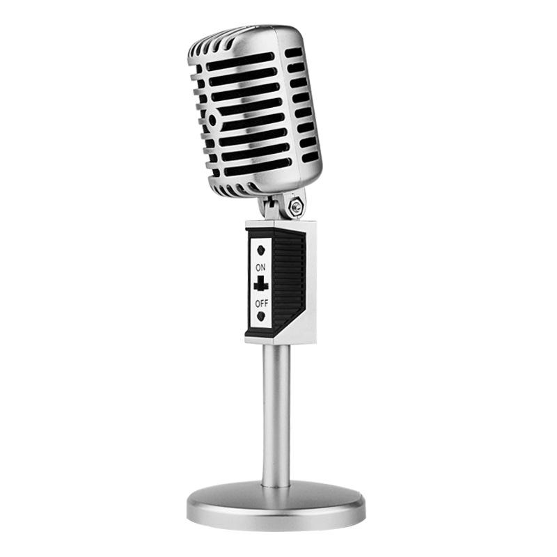 ... Professional Condenser Microphones Jazz Vintage - Silver - 1 ...