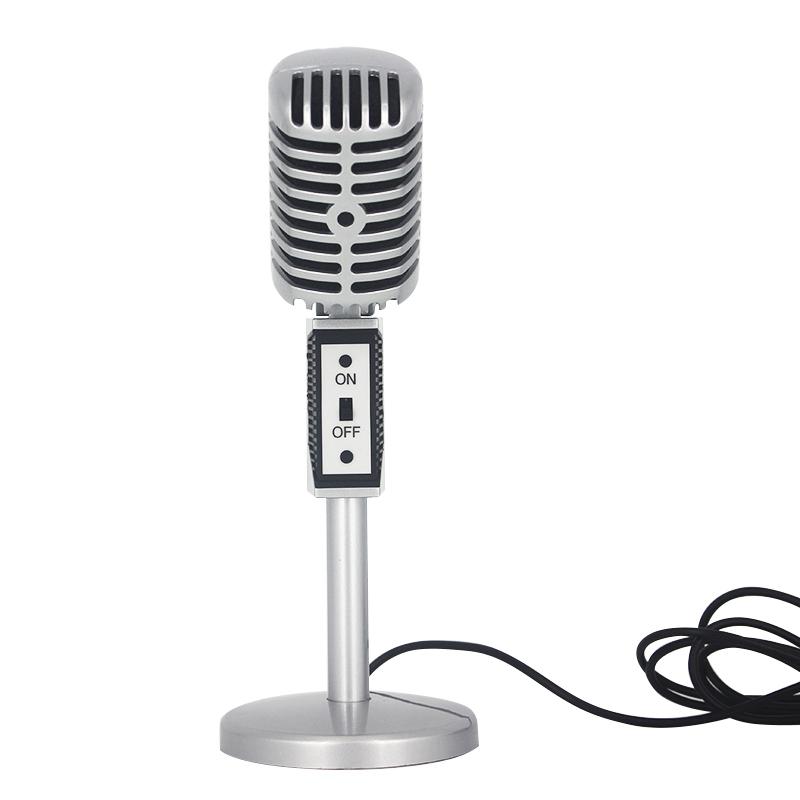 ... Professional Condenser Microphones Jazz Vintage - Silver - 3 ...