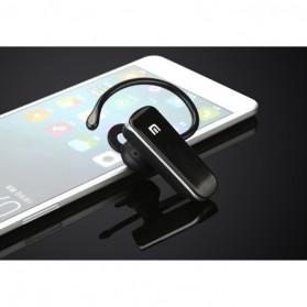 Bluetooth Headset Handsfree High Quality Sound - MI - Black - 5