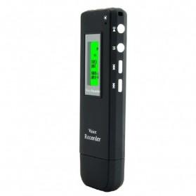 Perekam Suara Digital Meeting Voice Recorder 4GB - DVR-116 - Black - 3
