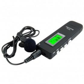 Perekam Suara Digital Meeting Voice Recorder 4GB - DVR-116 - Black - 5