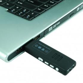 Perekam Suara Digital Meeting Voice Recorder 4GB - DVR-116 - Black - 7