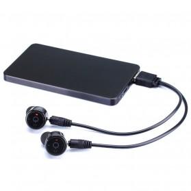 True Wireless Earphone Bluetooth Stereo  - X1T - Black - 2