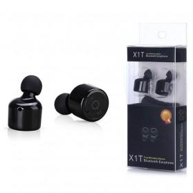 True Wireless Earphone Bluetooth Stereo  - X1T - Black - 4