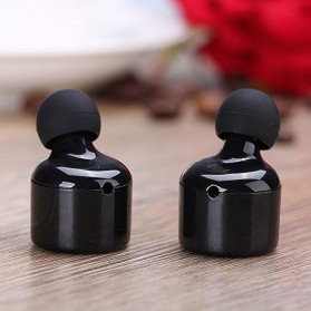 True Wireless Earphone Bluetooth Stereo  - X1T - Black - 6