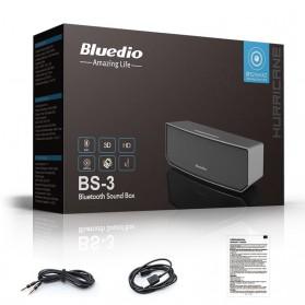 Bluedio BS-3 Camel Bluetooth Portable Speaker 3D Surround Effect - Black - 3