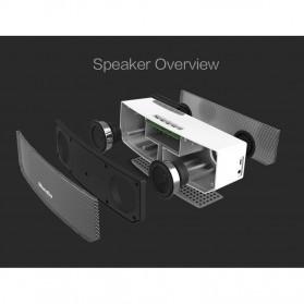 Bluedio BS-3 Camel Bluetooth Portable Speaker 3D Surround Effect - Black - 5